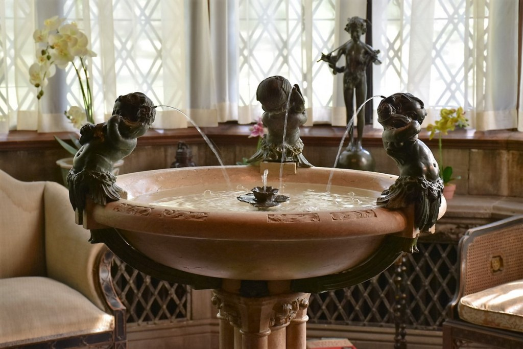 Why not have a little fountain inside the house?