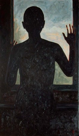 Contre-jour III (triptych) - central panel