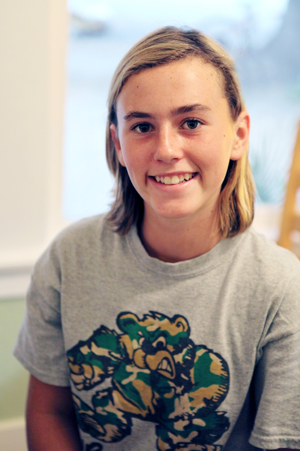The December Student of the Month: Cate Z.