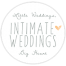 Intimate weddings badge