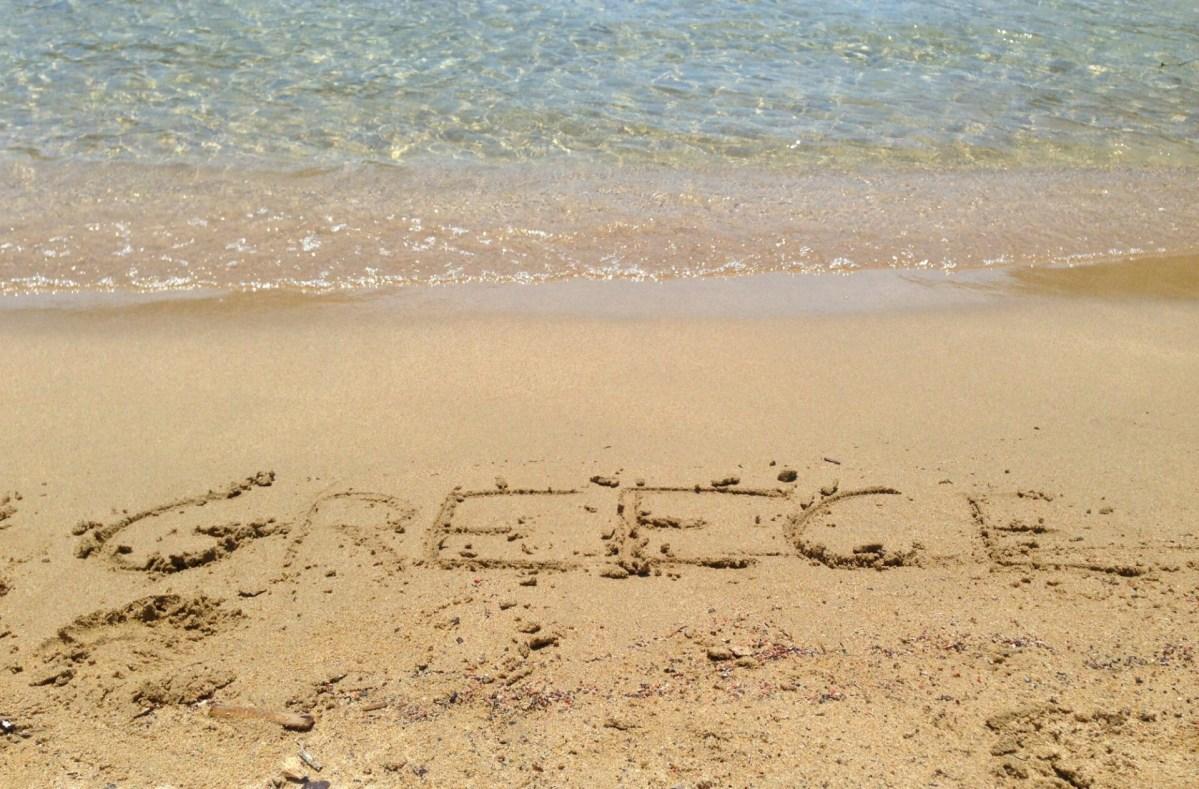 Smukke strande på Peloponnes i Grækenland