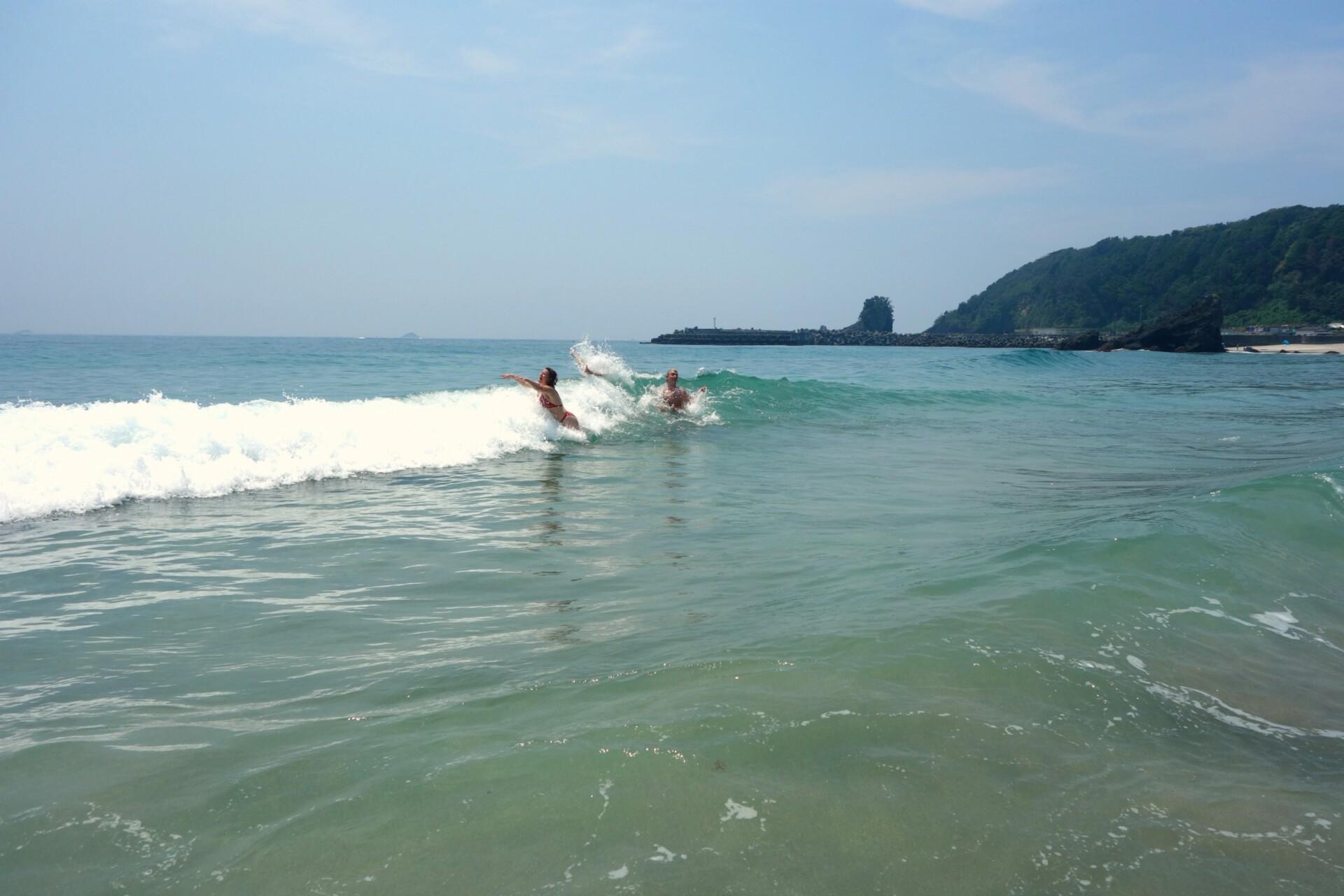 Hvor ligger der en god strand i Japan