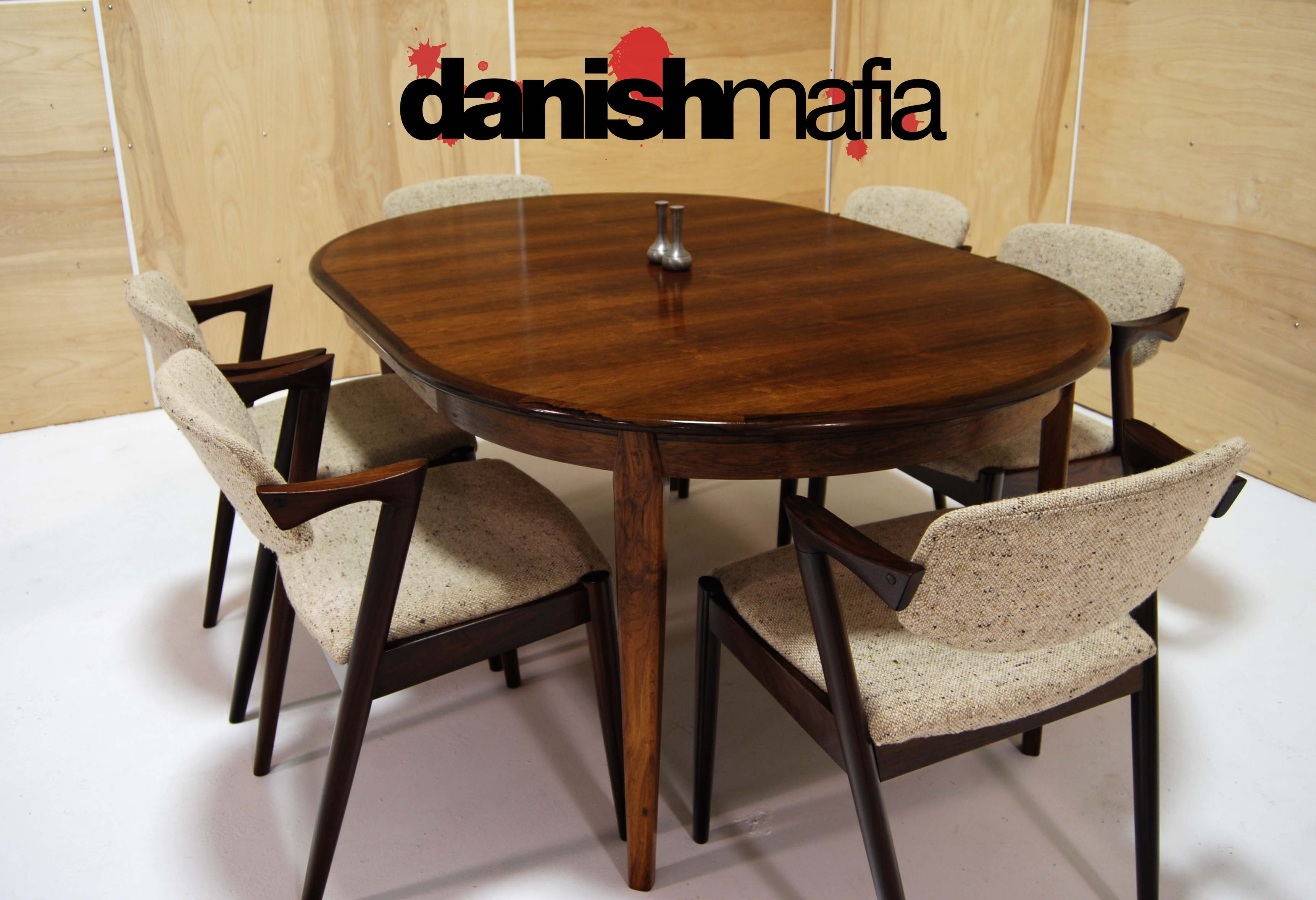 mid century danish modern omann jun rosewood dining table mid century kitchen table DSC f DSC f