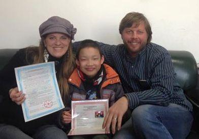 Everett Ephraim Johnson, Adoption Finalized