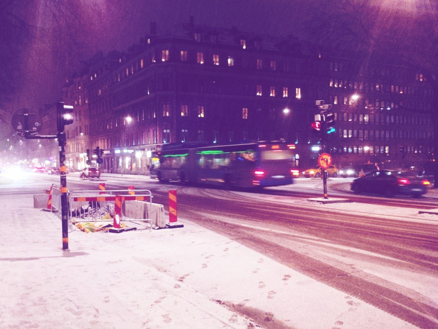 Snapshots | Stockholm, a very very cold city