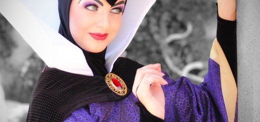 Evil Queen at Disneyland