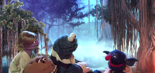 Sesame Street Star Wars Parody: Star S'Mores