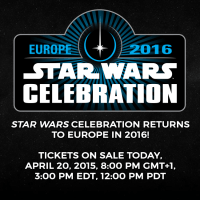 2016 Star Wars Celebration Tickets on Sale Today
