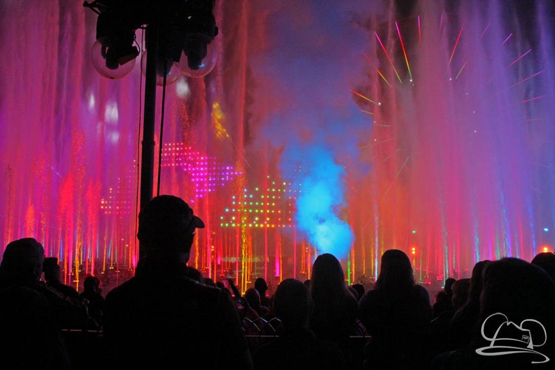 The Magicians Behind World of Color – Celebrate! – An Interview With Imagineers Chuck Davis, Jason Badger, and a Fountain