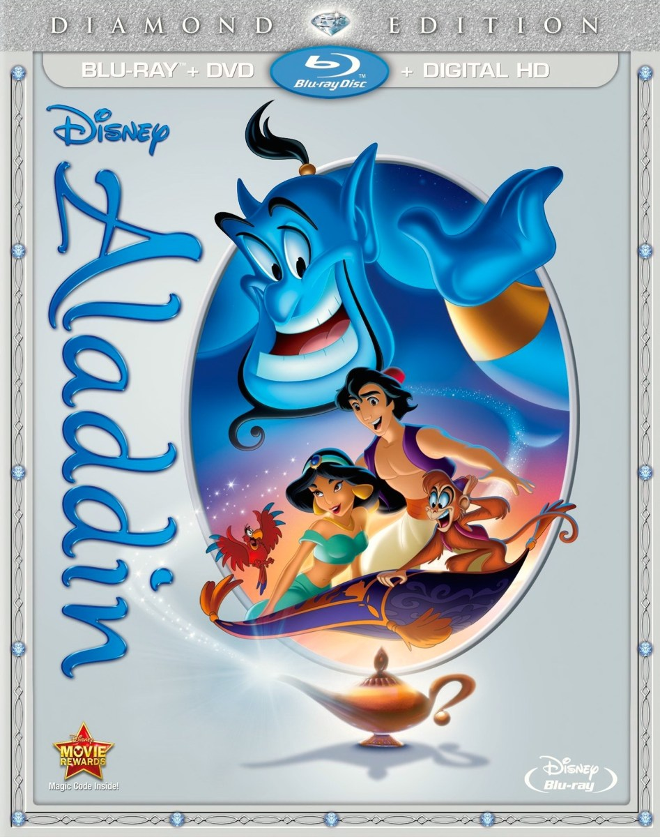 Aladdin: Diamond Edition Flying to Blu-ray 10/13