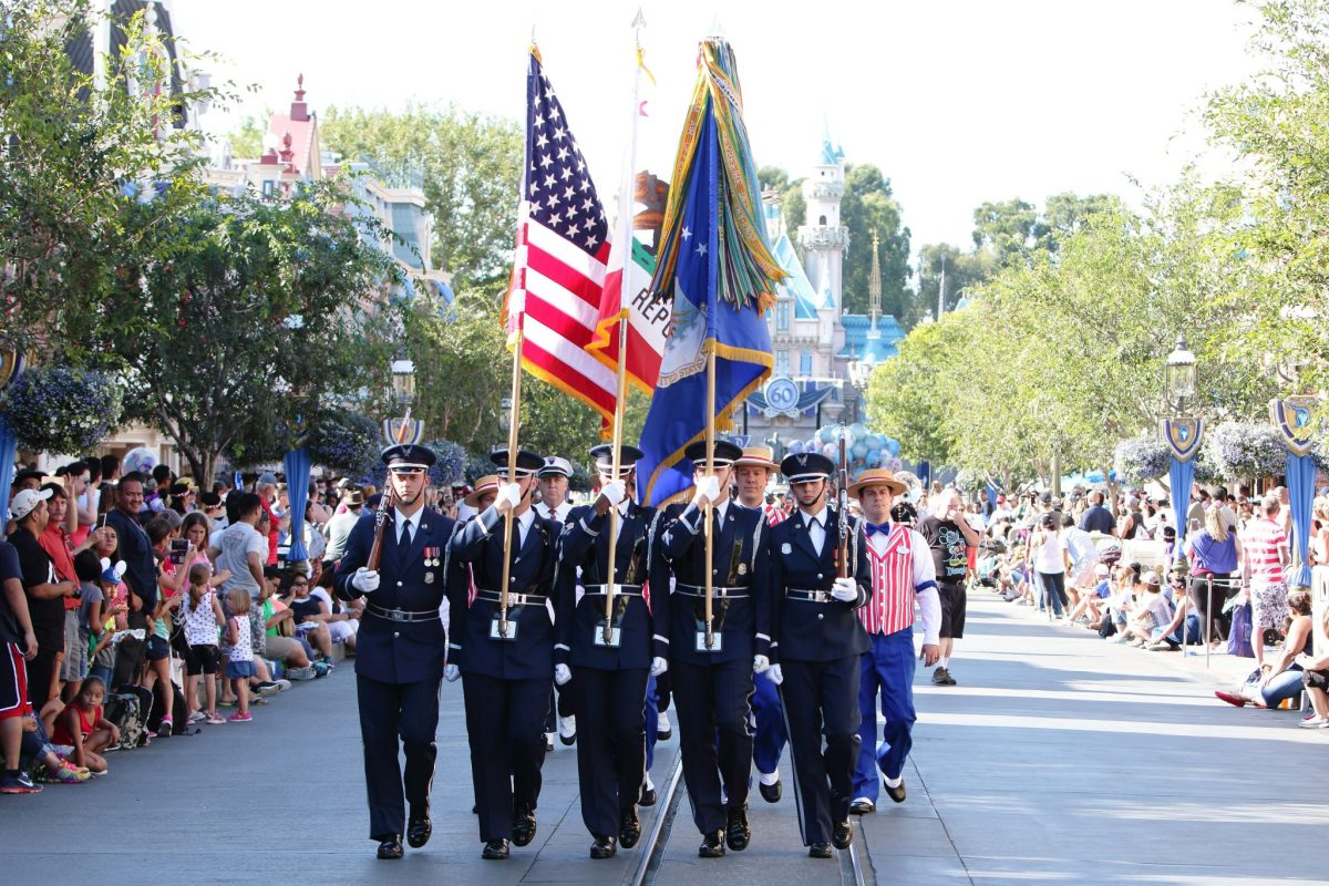 USAF and Marines Dazzle the Disneyland Resort for Independence Day Weekend