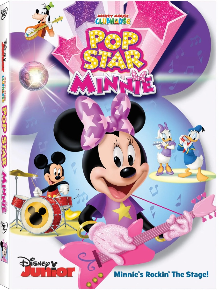 Minnie Mouse Rocks the Stage in 'Mickey Mouse Clubhouse: Pop Star Minnie' Heading to DVD 2/2
