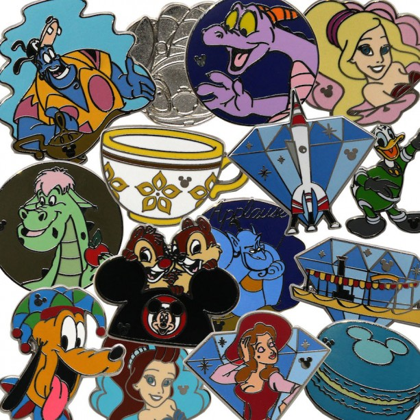 Disney Parks Blog Announces Wave B Set of Hidden Mickey Pins