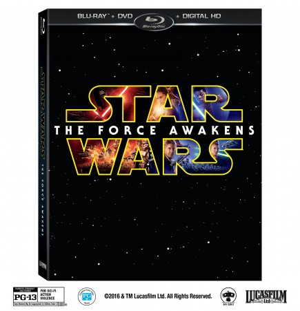 Star Wars: The Force Awakens Blu-Ray Combo Pack and DVD