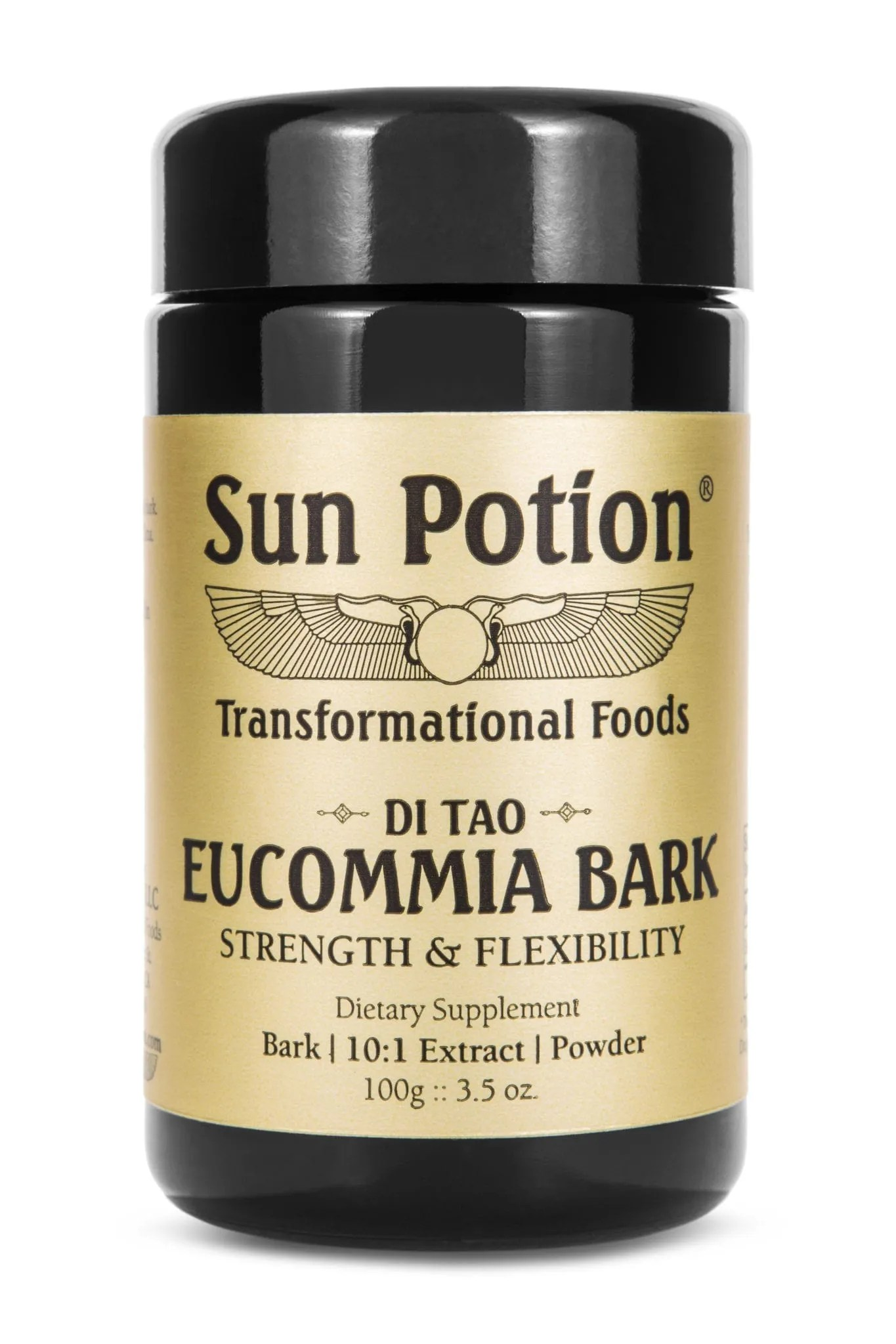 Sun Potion Eucommia Bark Front View