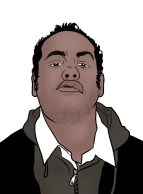 dessin auto portrait Alex RIp - Alexandre Bleuzet - AlexRip - DaRipClub
