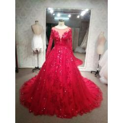 Small Crop Of Red Wedding Dresses
