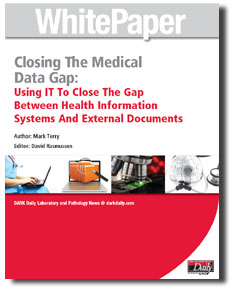 Closing The Medical Data Gap: Using IT To Close The Gap Between Health Information Systems And External Documents