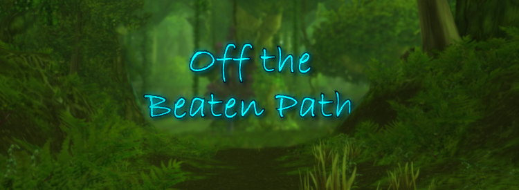 A trail rarely used on the Azerothian journey.