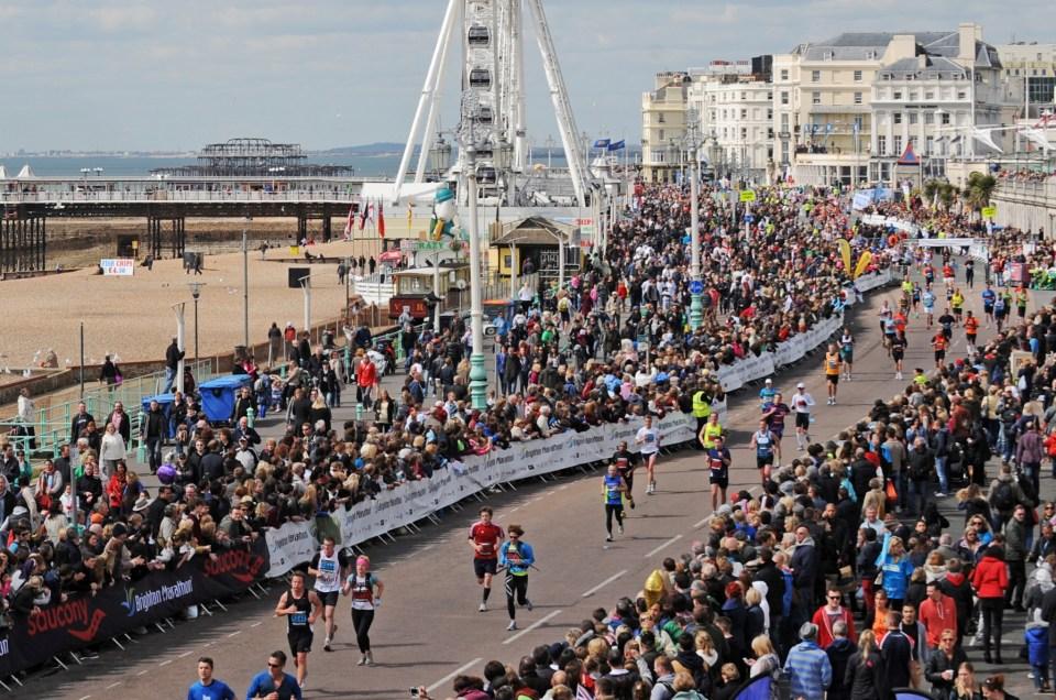 Kate Jones completes Brighton Marathon