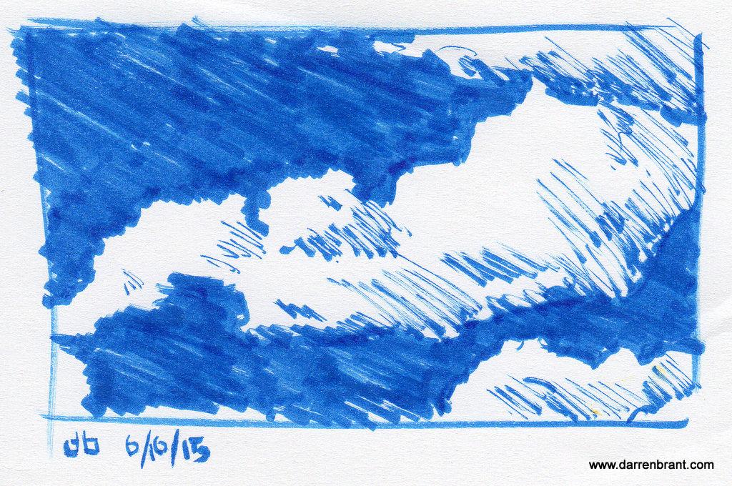 cloud study #1 6-16-15 Otterville