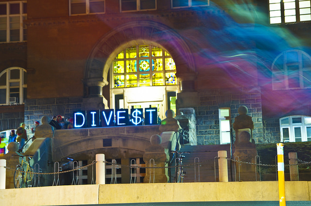 """Divestment Wave Around the Nation"" by Light Brigading on Flickr"