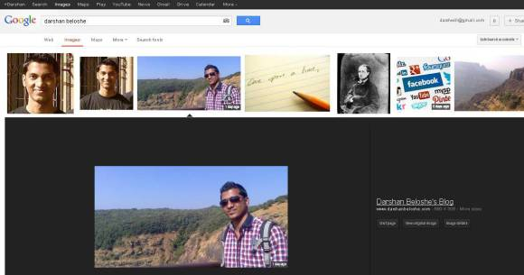 Google new image search