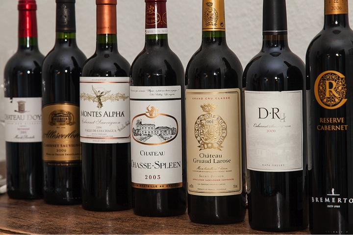 Cabernet Sauvignon und Bordeaux Weine