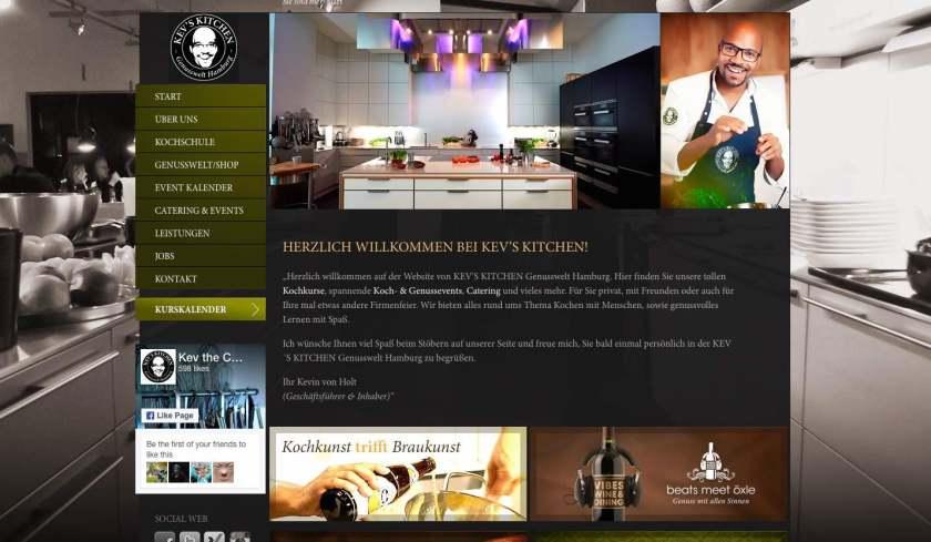 Kev´s Kitchen Kochschule Hamburg