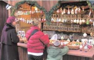 Weihnachtsmarkt in Krakau