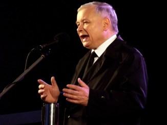 Jaroslaw Kaczynski, PiS Vorsitzender und der eigentlich Regierende, Foto: Piotr Drabik, CC-BY-2.0