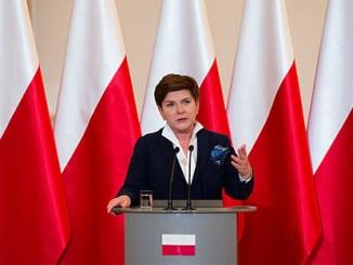 Polen über alles: Ministerpräsidentin Szydlo