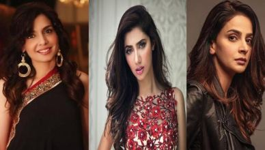 Top 5 Pakistani Female Models