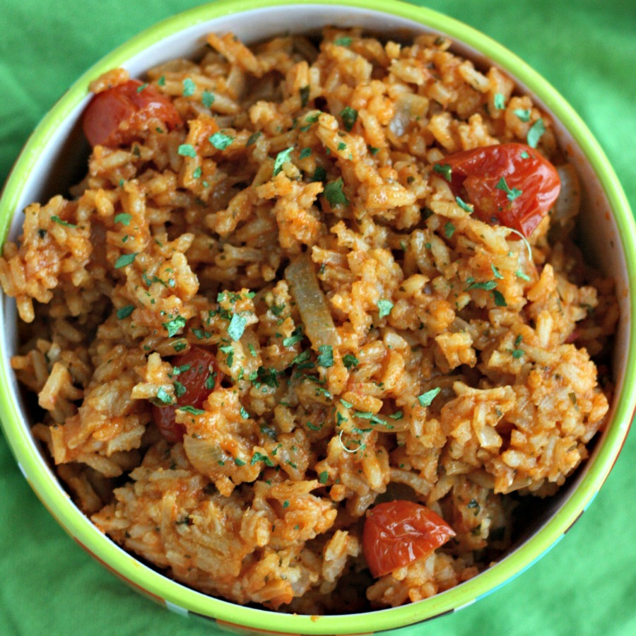 Go-To Mexican Red Rice - Dash Of Evans