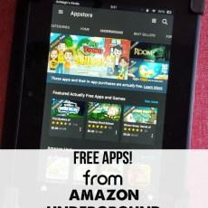Amazon Underground: Actually FREE Apps!