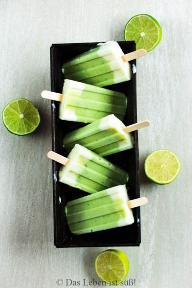 Avocado Limetten Eis (5 von 1)
