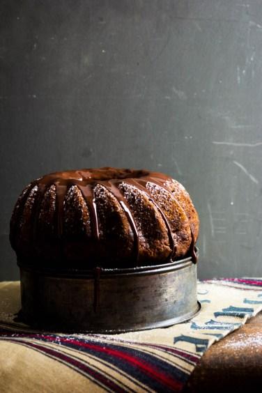 Marmorkuchen mit Schokolade und Granatapfel (17 von 69)