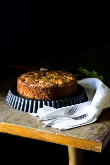 Rhabarber Kuchen (1 von 1)