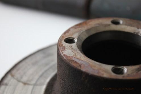 "Rover Mini Xn - alte 12"" Bremsscheiben"