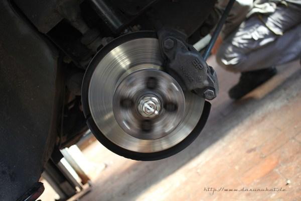 Rover Mini Xn - Bremsscheibe rotierend
