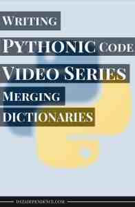 [Video Series] Taking Your Python Skills to the Next Level With Pythonic Code – Merging Dictionaries