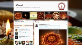 Twitter Celebrates Festival of Lights with a special Diwali page (#Diwali)