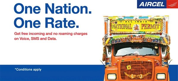 Aircel makes Roaming Free with 'One Nation, One Rate' plan