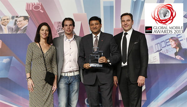 Bharti Airtel's 'myairtel app' wins Best App award at GSMAs Global Mobile Awards 2013