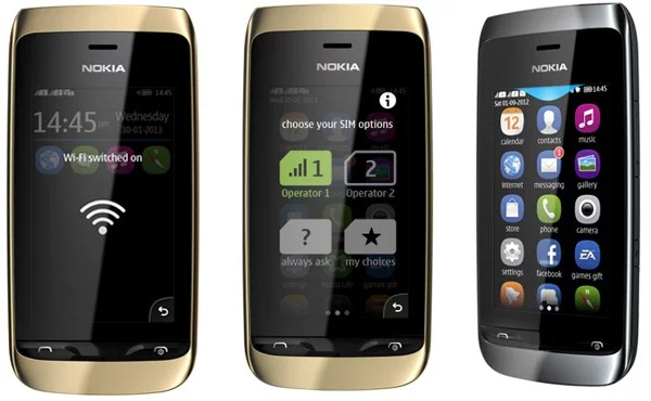 Nokia unveils Asha 310 with Swap Dual SIM and Wi-Fi