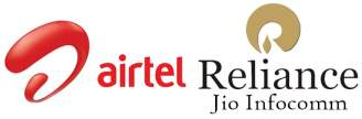 Bharti Airtel and Reliance Jio plans to share Telecom Infrastructure for 4G, 3G and 2G networks