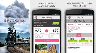 IRCTC launches its Official Android App - IRCTC Connect