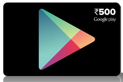Google brings Play store Prepaid vouchers to India - available in Rs 500, Rs 1000 & Rs 1500