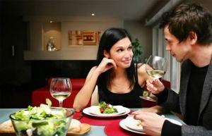 plan romantic dinner for two