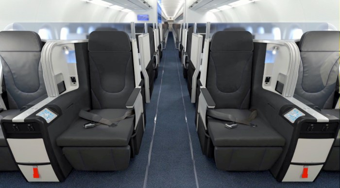 jetBlue's new interior preview.